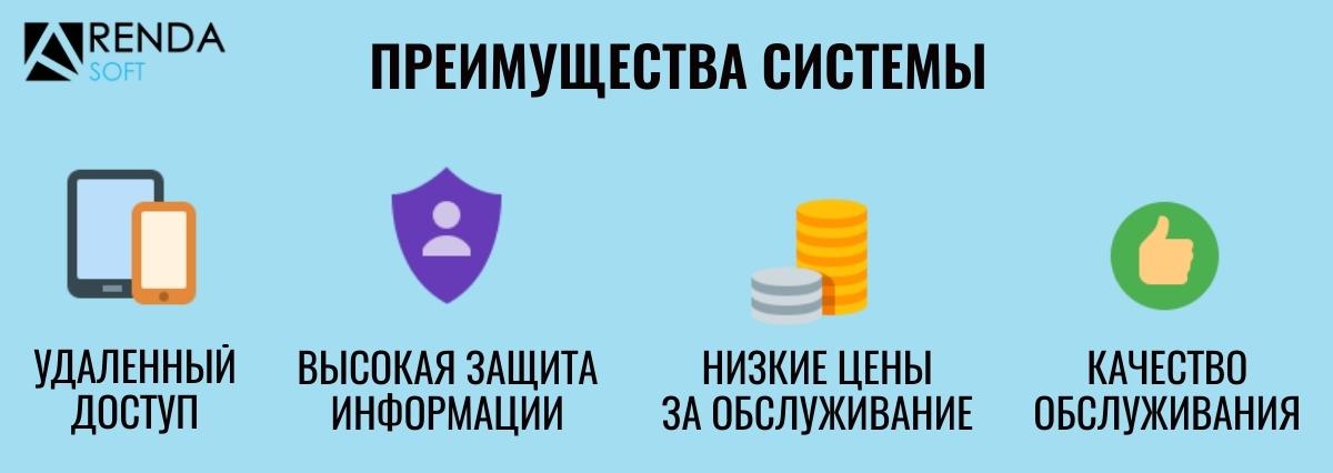 Преимущества АрендаСофт при учете начислений и платежей