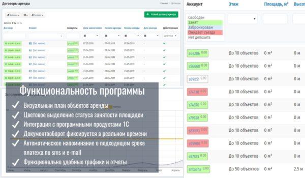 Преимущества учета платежей в Арендасофт